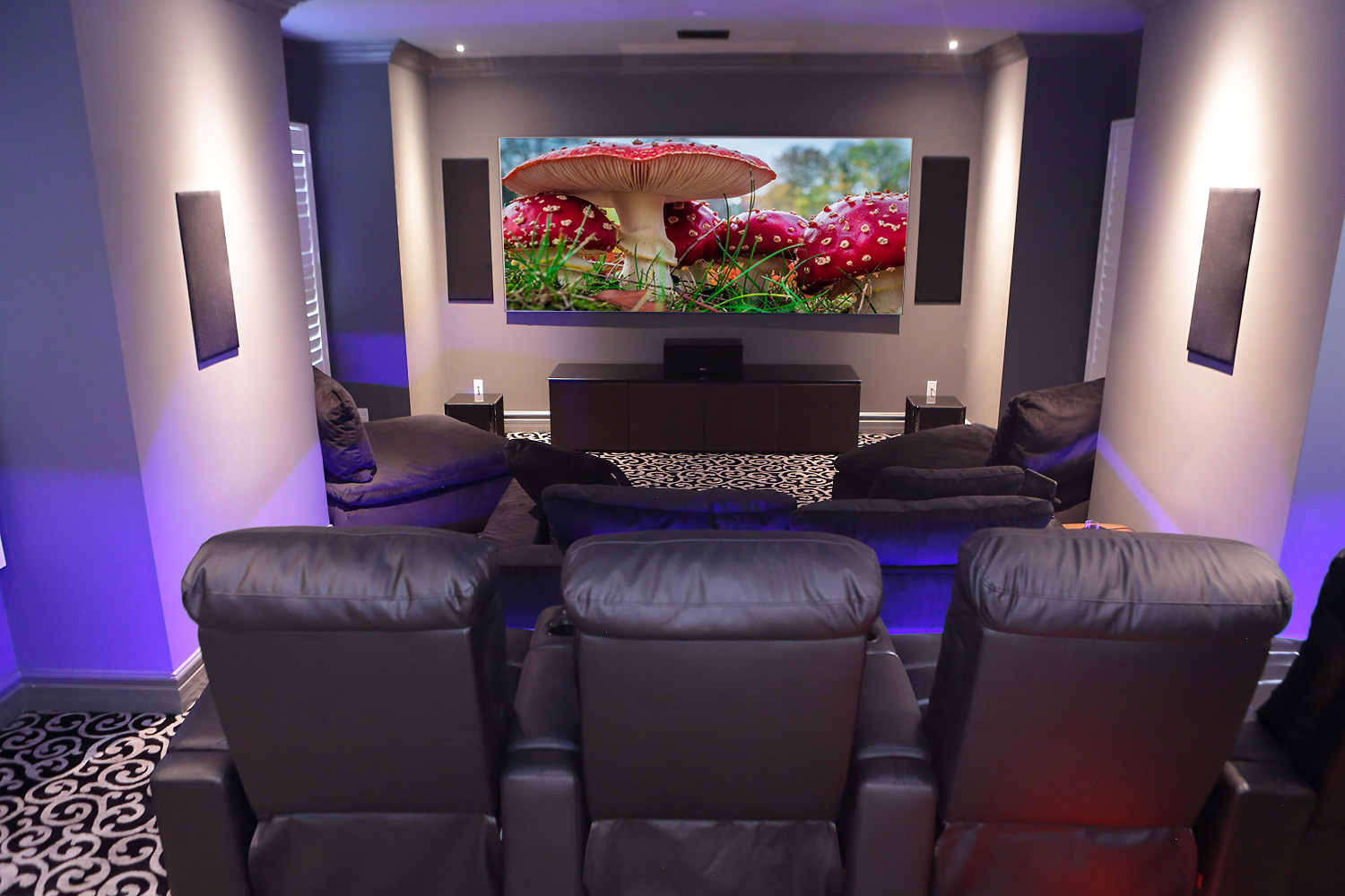 custom home theater automation